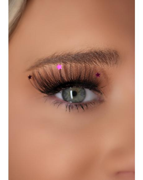 Pink Star Lashes