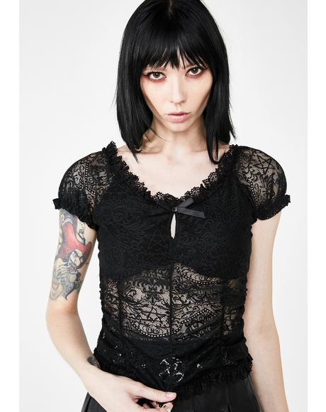 Holly Lace Top