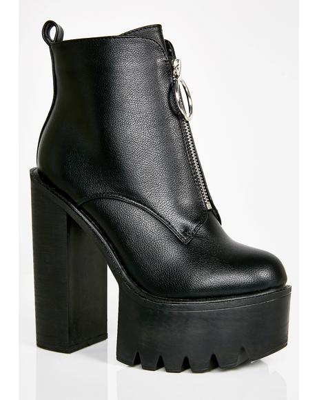 Freestyle Platform Boots