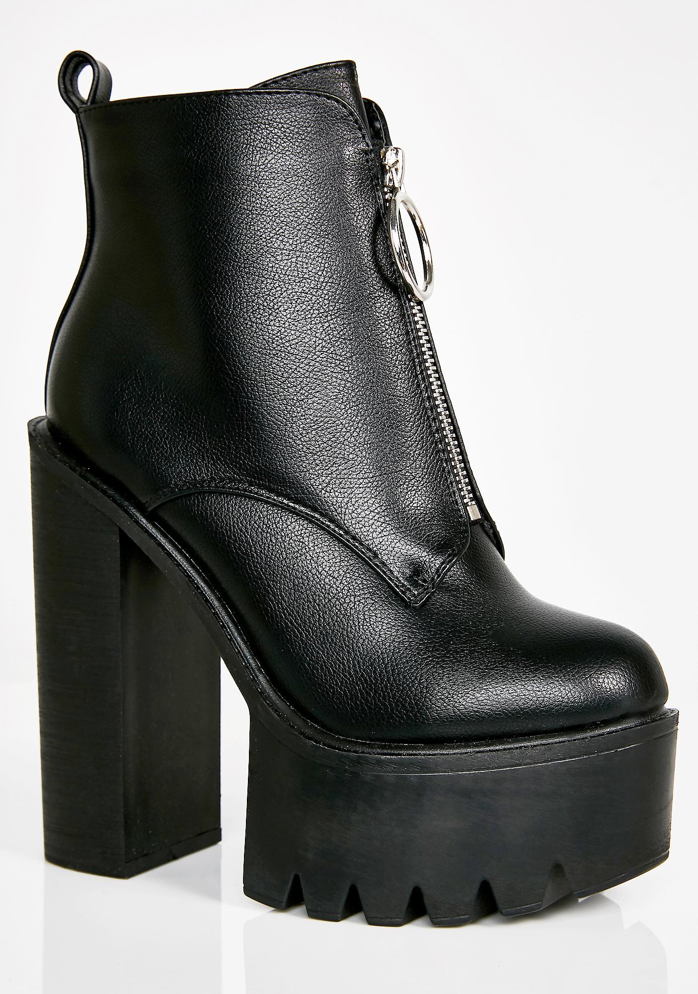 Lamoda Freestyle Platform Boots