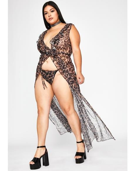 Scandalous Sacrifice Leopard Dress