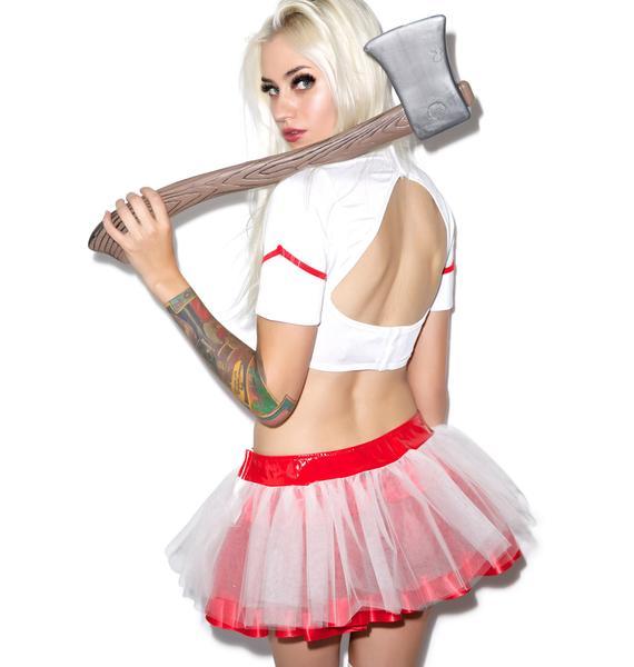 Lip Service Nurse Betty Tutu Skirt