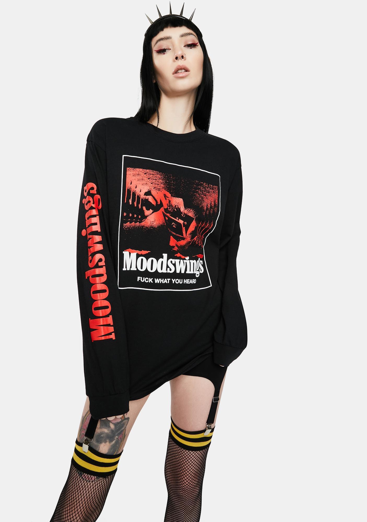 MOODSWINGS Moodswings Long Sleeve Graphic Tee