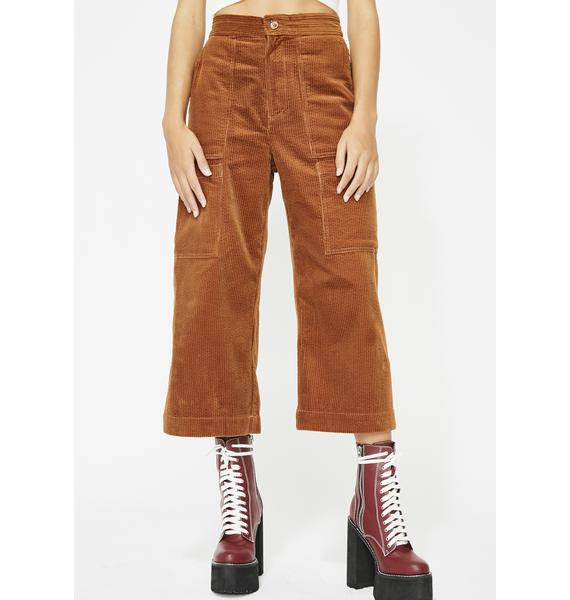 Dipped In Sauce Corduroy Pants