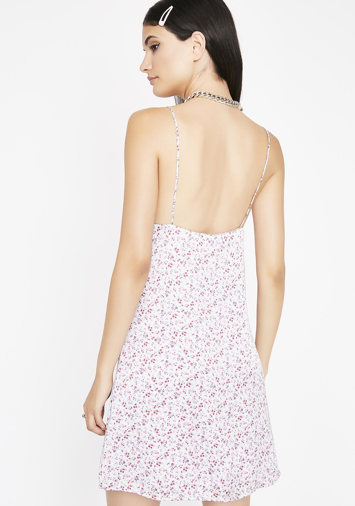 Ain't My Fault Floral Dress