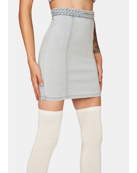 Double Dutch Mini Skirt