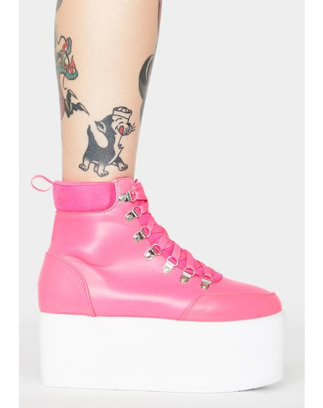 Baby All Time High Platform Boots