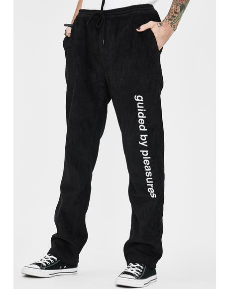Guided Corduroy Pants