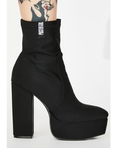 No Lamez Platform Boots
