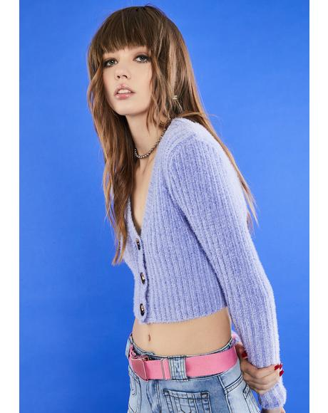 Let's Be Friends Cropped Cardigan