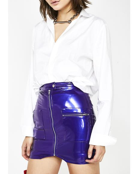 Electrifying Senses Mini Skirt