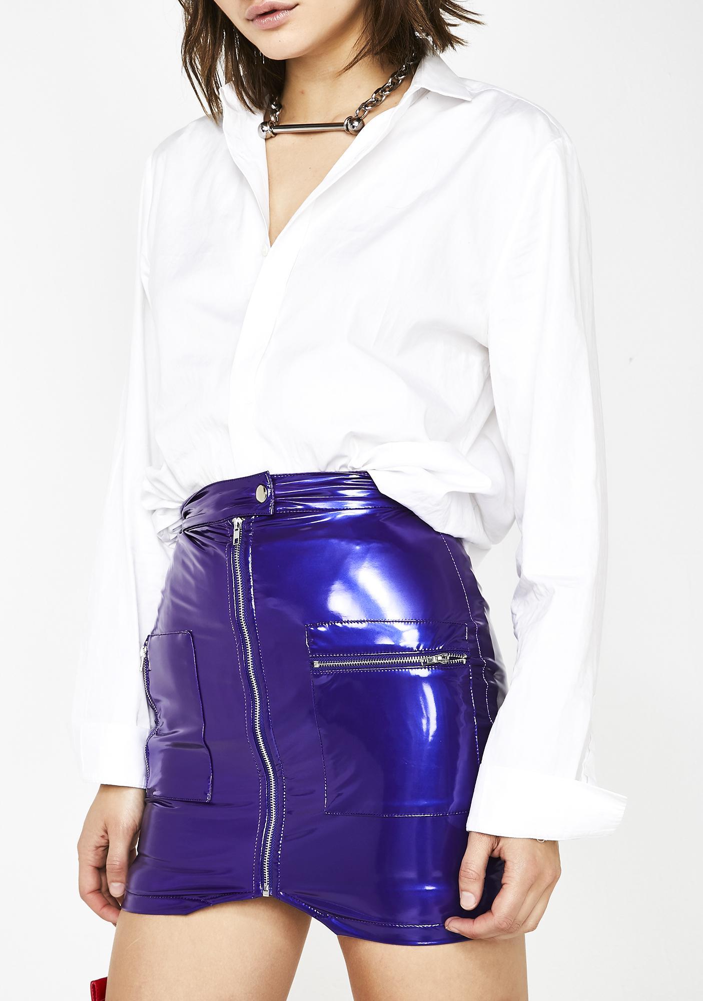 Electrifying Senses Mini Skirt