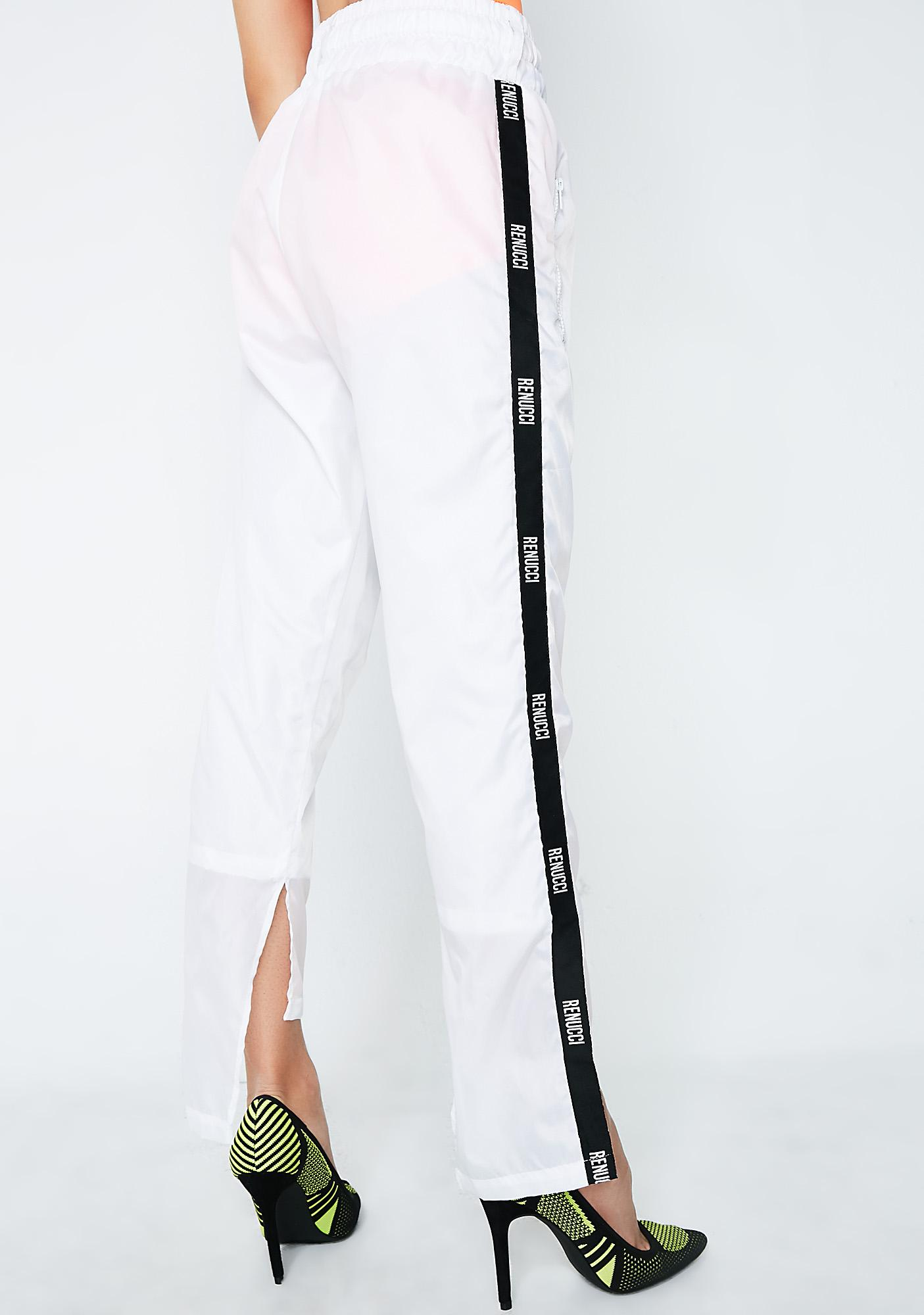 Demian Renucci Relaxed Fit Parachute Pants