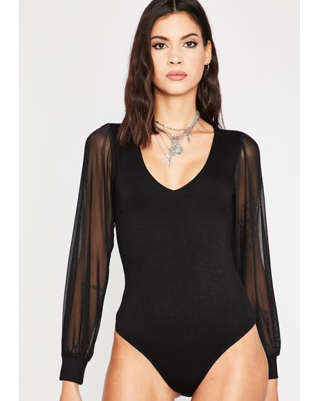 Miss Priss Sheer Bodysuit