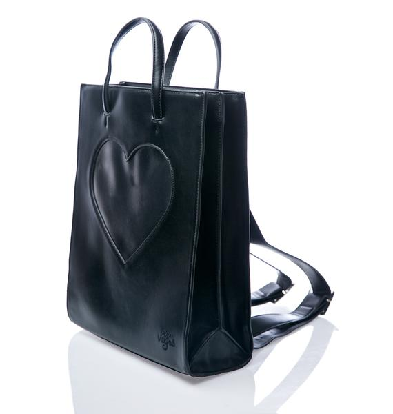 Valfré Black Heart Of Glass Backpack