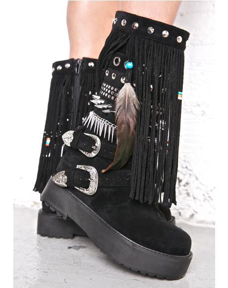 Blackhawk Sedona Wedge Boots