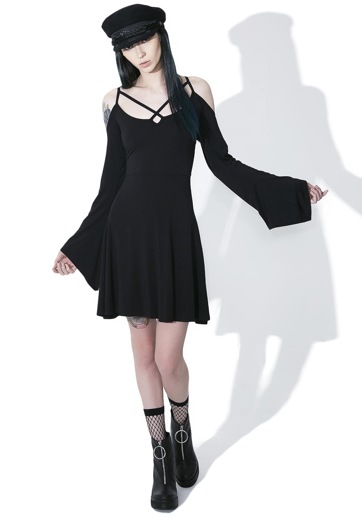 Killstar Seance Skater Dress
