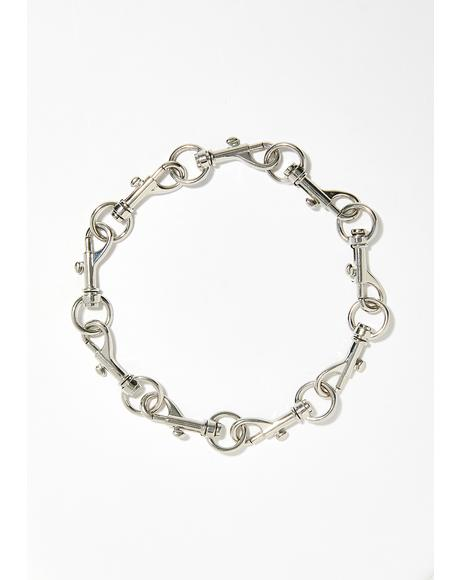Got It On Lock Clasp Choker