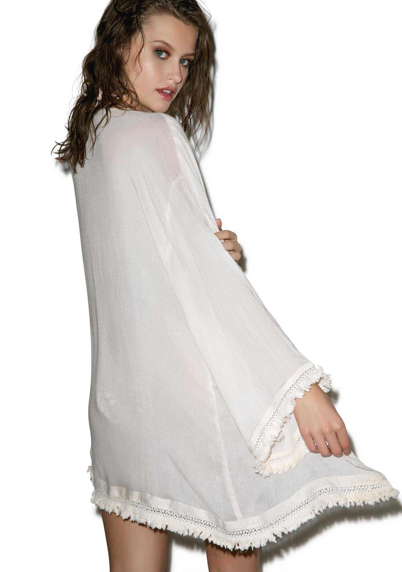 Wildfox Couture Fairy Dust Kimono Wrap