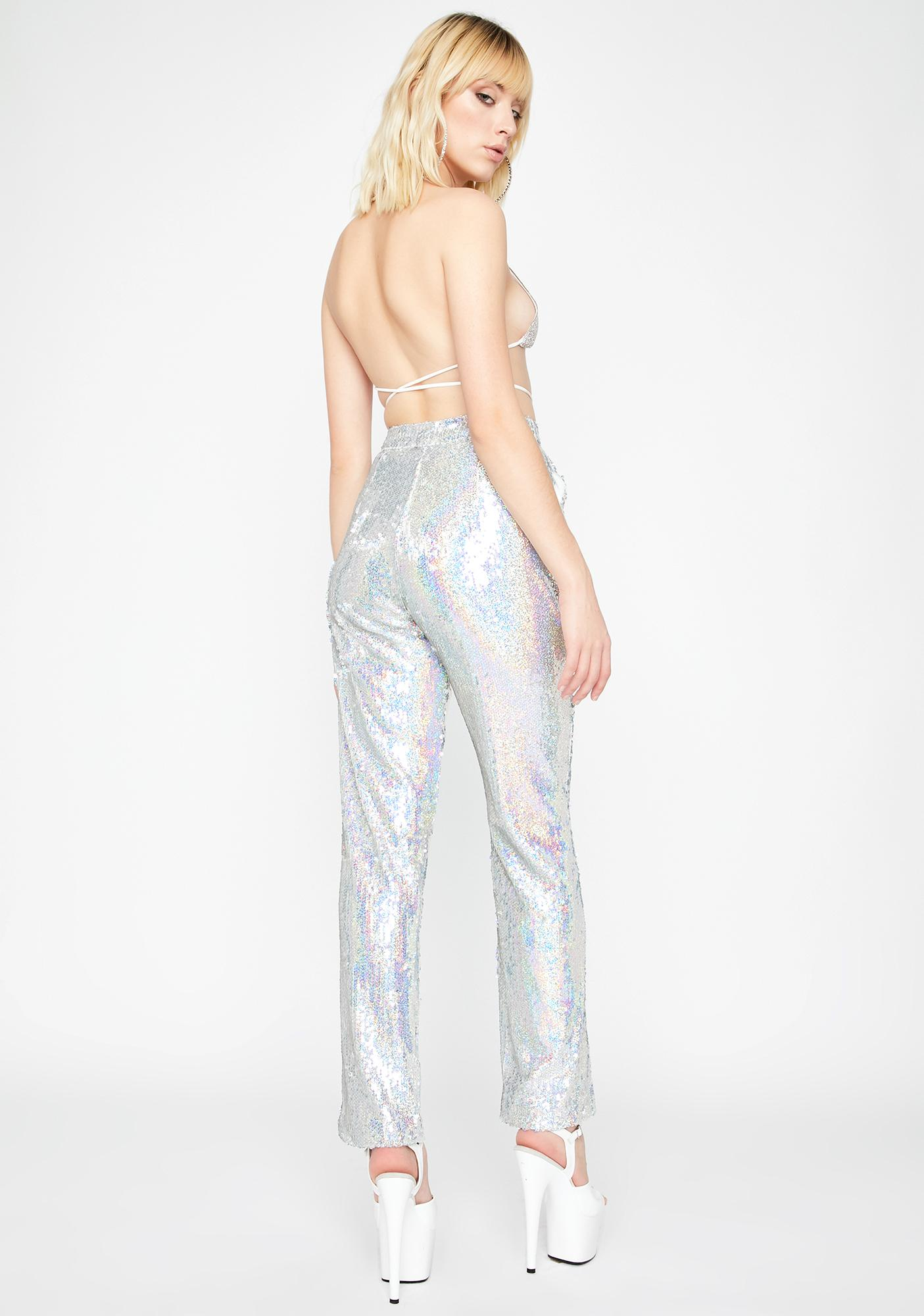 Much Needed Drama Sequin Pants