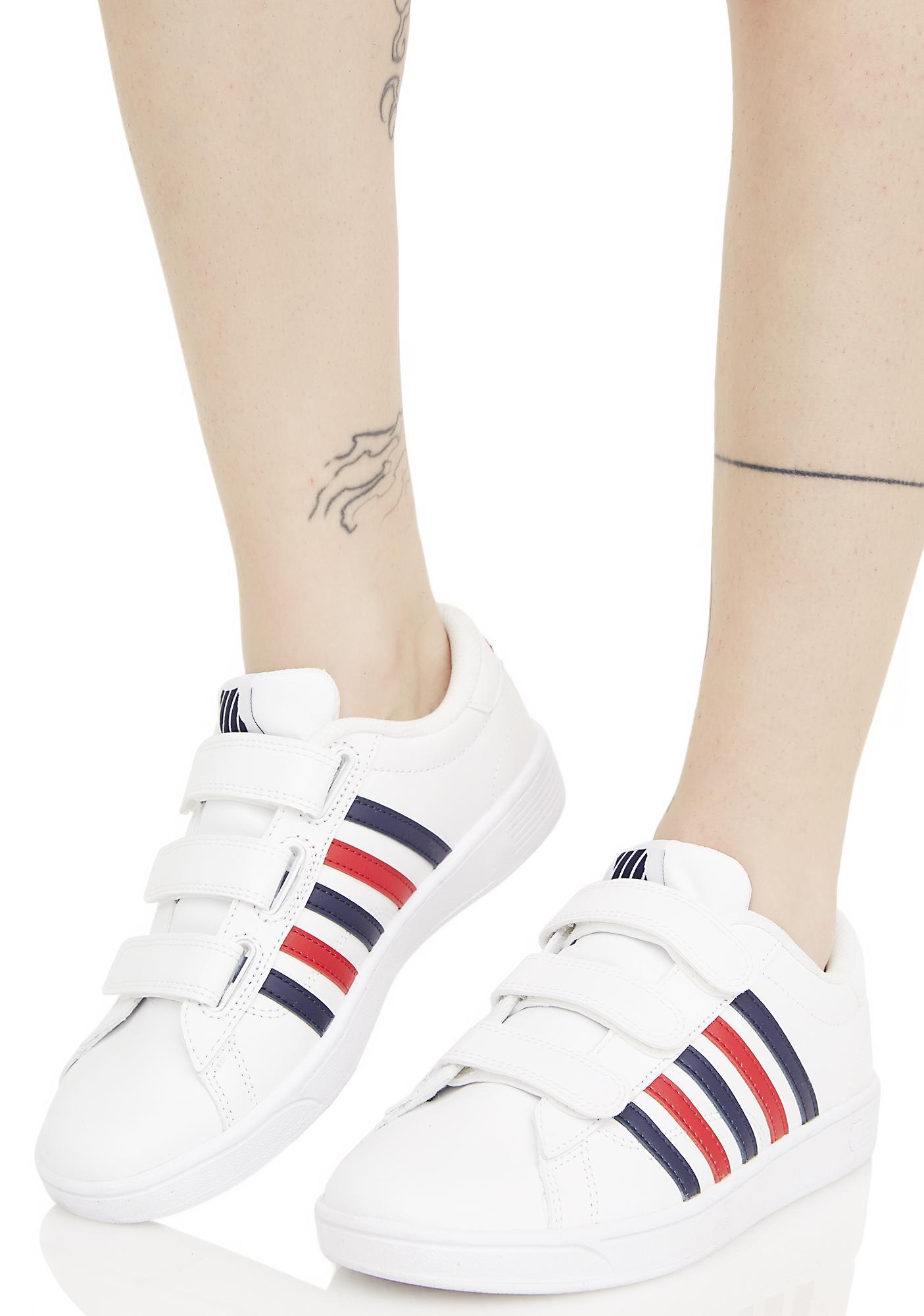 K Swiss Hoke 3 Strap Sneakers