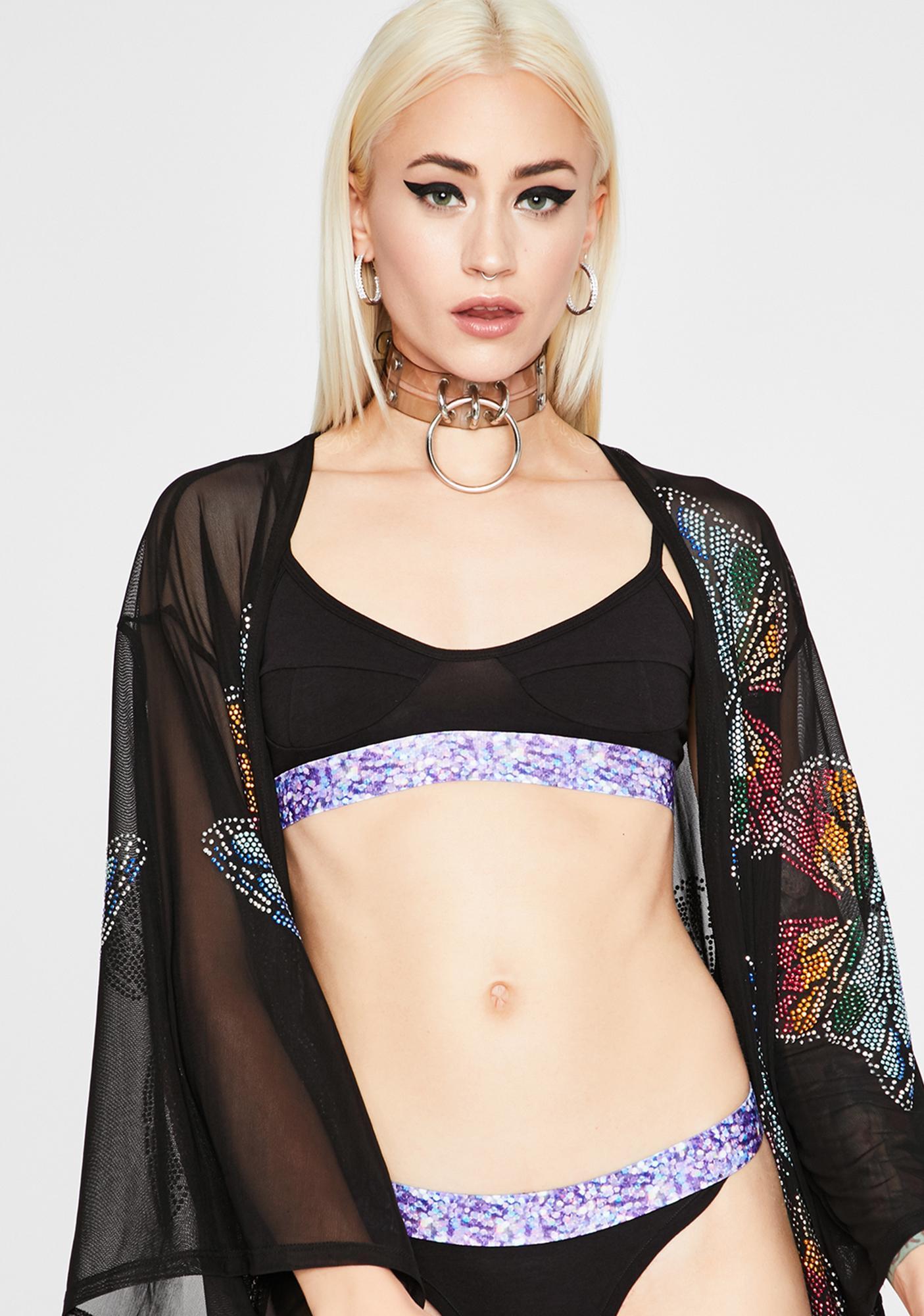 Related Garments Glistening Bralette