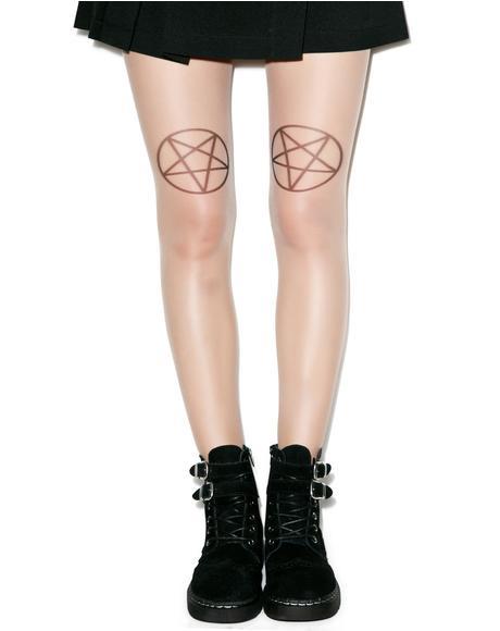 Pentagram Tights