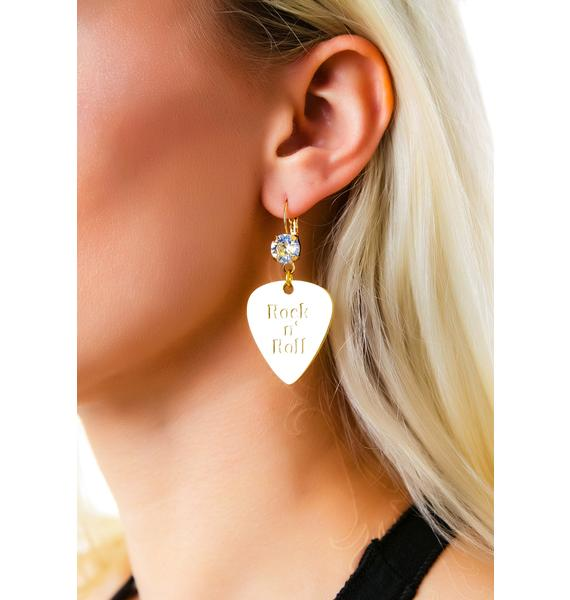 Anita K  Rock n' Roll Earrings