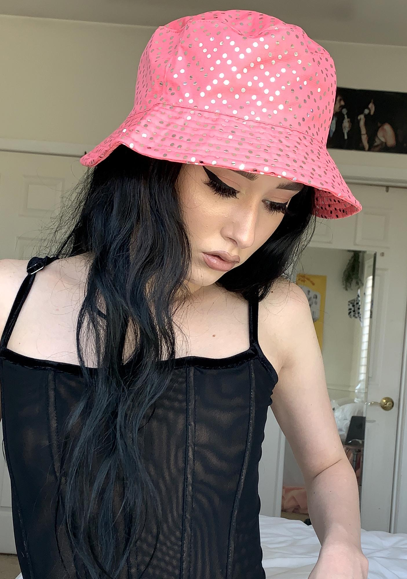 Flash Mode Sequin Bucket Hat