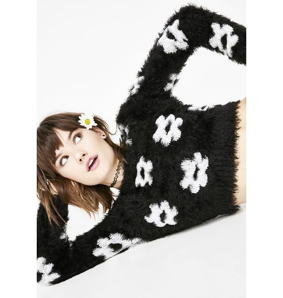 dELiA*s by Dolls Kill Lovefool Fuzzy Sweater