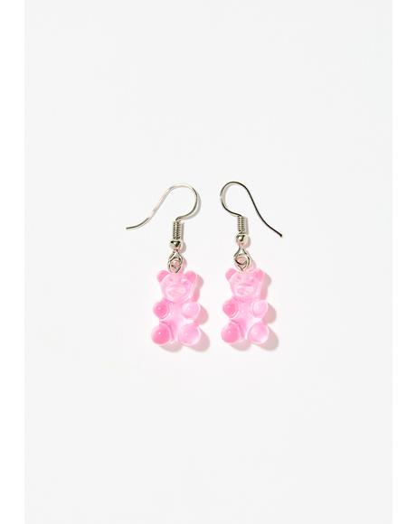 Sugar Fix Gummy Bear Earrings