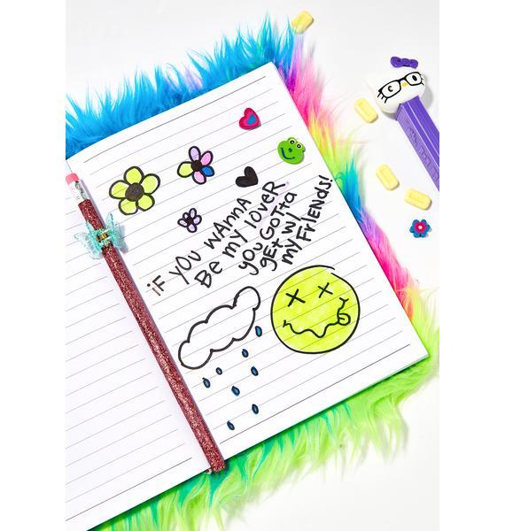 Cutie Confidential Furry Notebook
