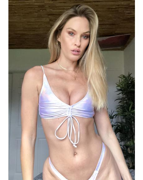Ecstasy Prism Lumineux Bikini Top