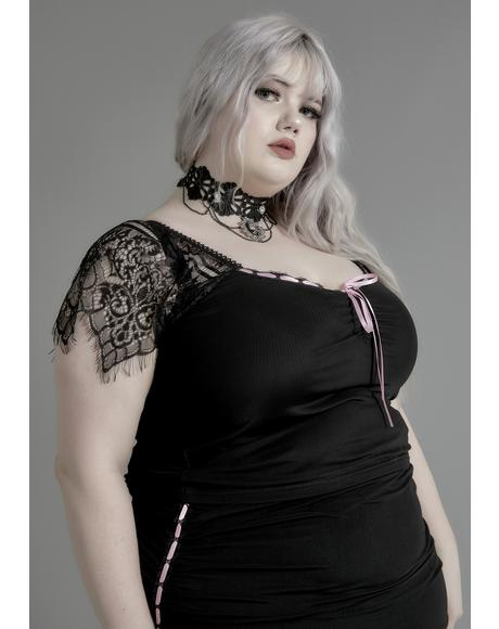Miss Enchanted Marionette Lace Top