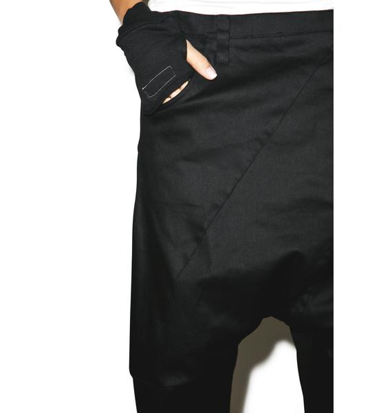 MNML Buried Alive Drop Crotch Pants