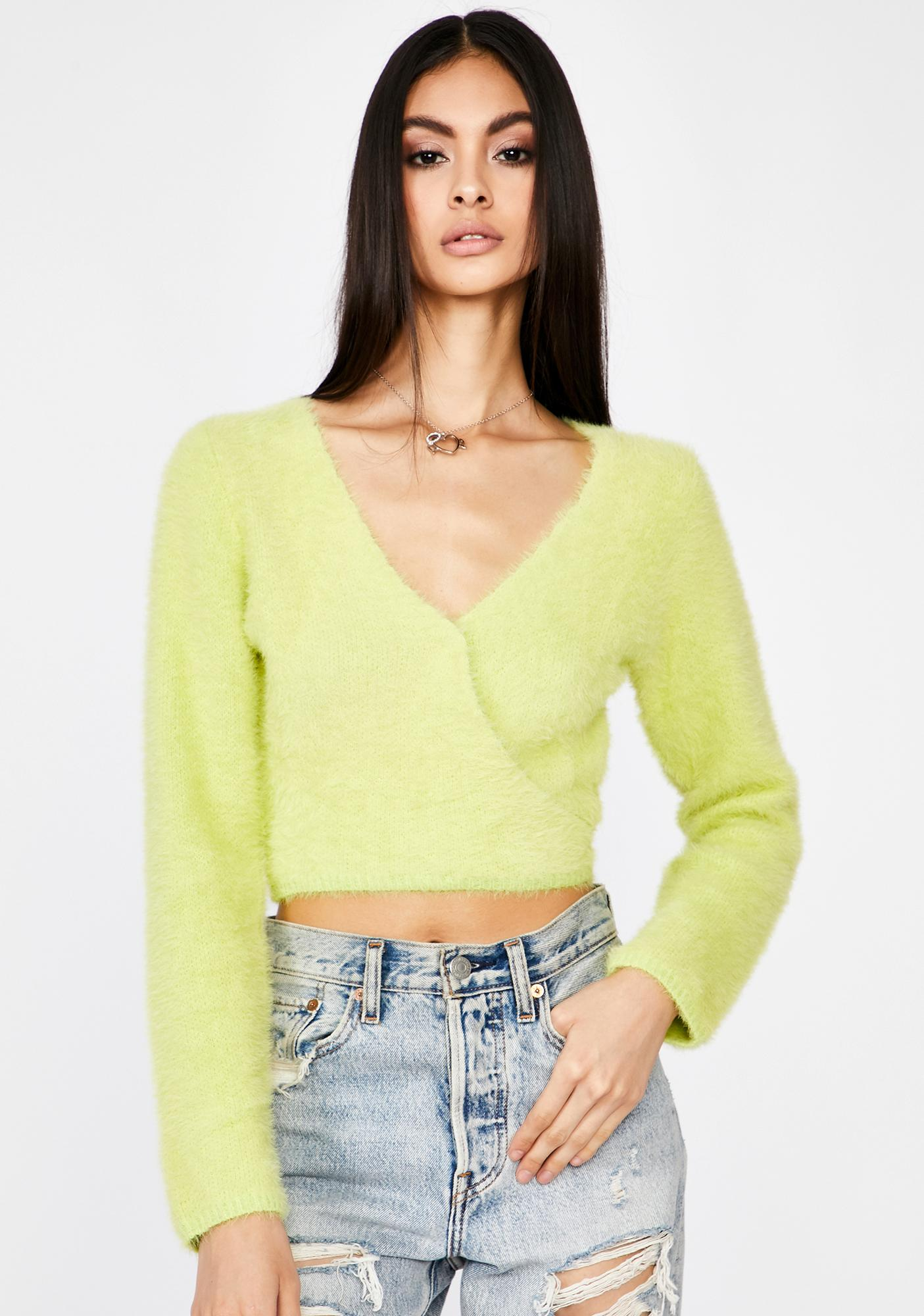 Top Critic Wrap Sweater