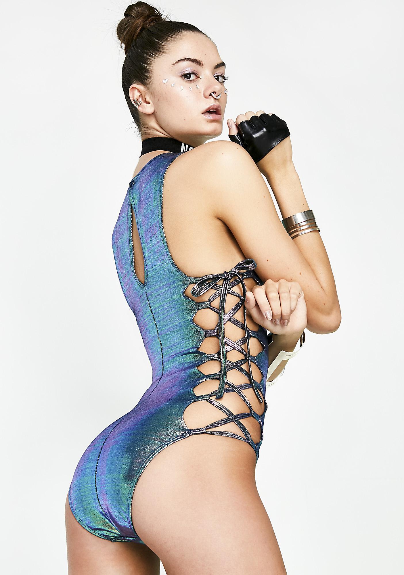 Galactic Tantric Hologram Bodysuit