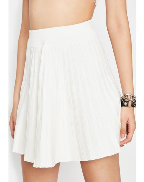 Angel Reckless Reign Pleated Skirt