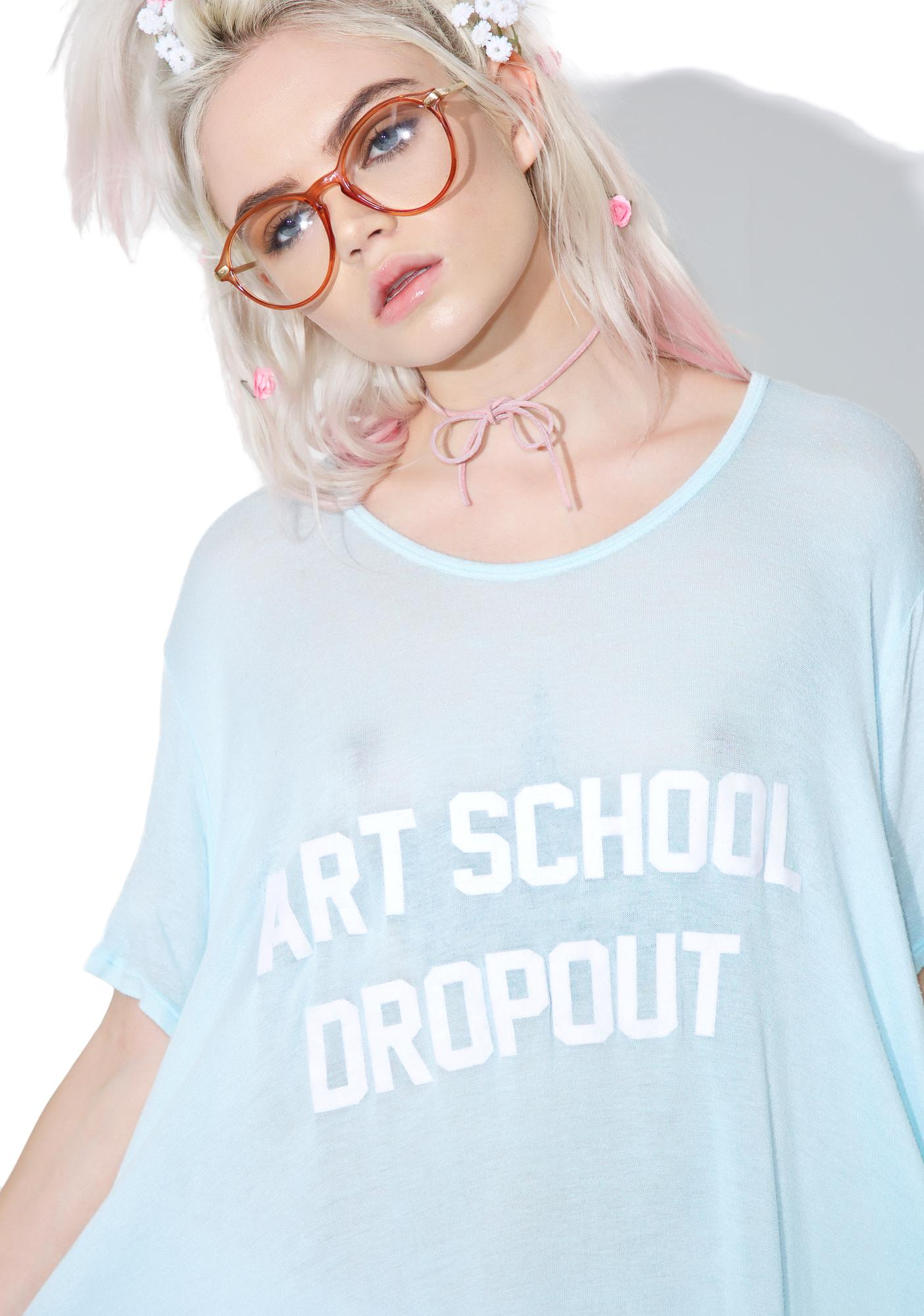 Daydream Nation Art School Dropout Tee