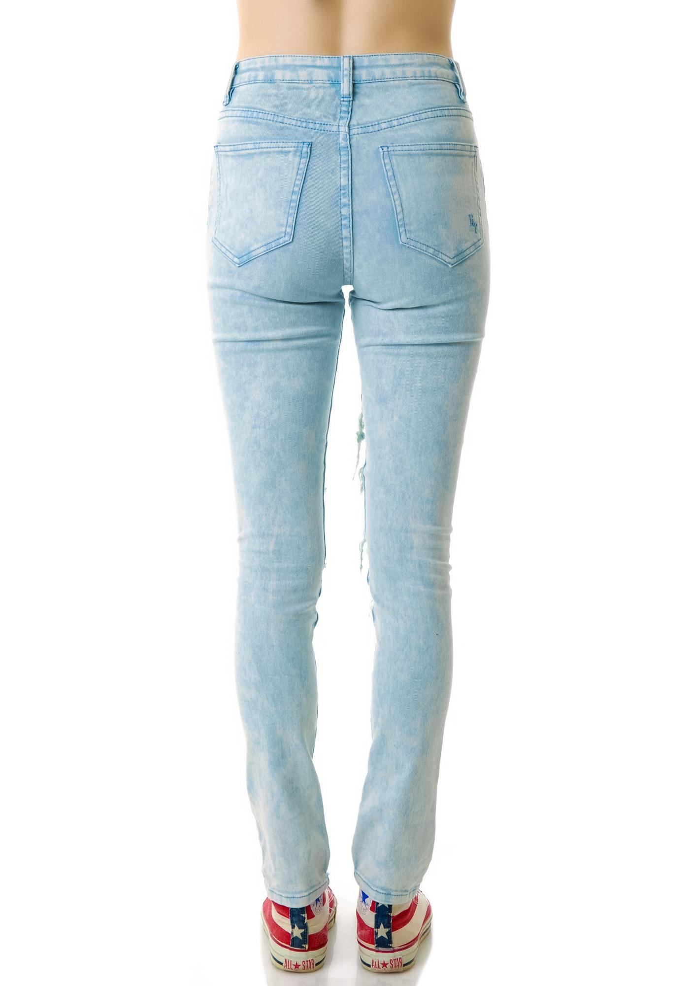 Evil Twin Thrasher High Waisted Jeans
