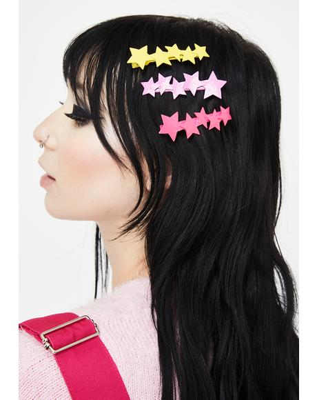 Carnival Candy Hair Clip Set
