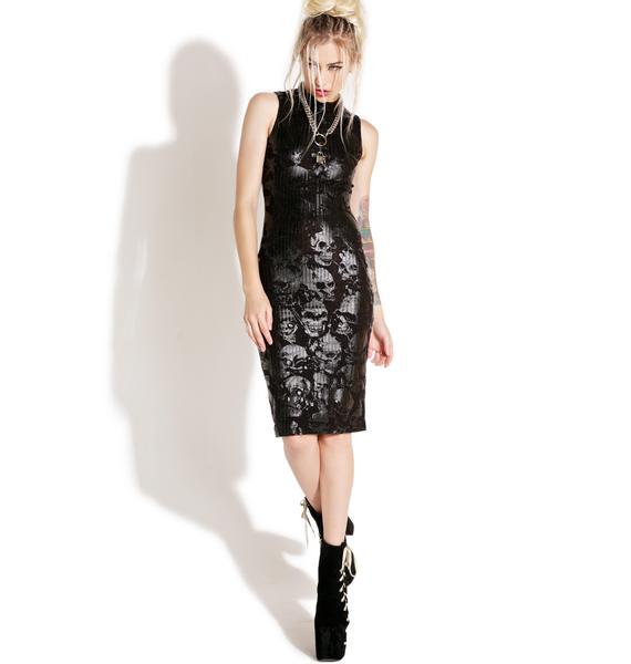 Killstar Enfant Terrible Midi Dress
