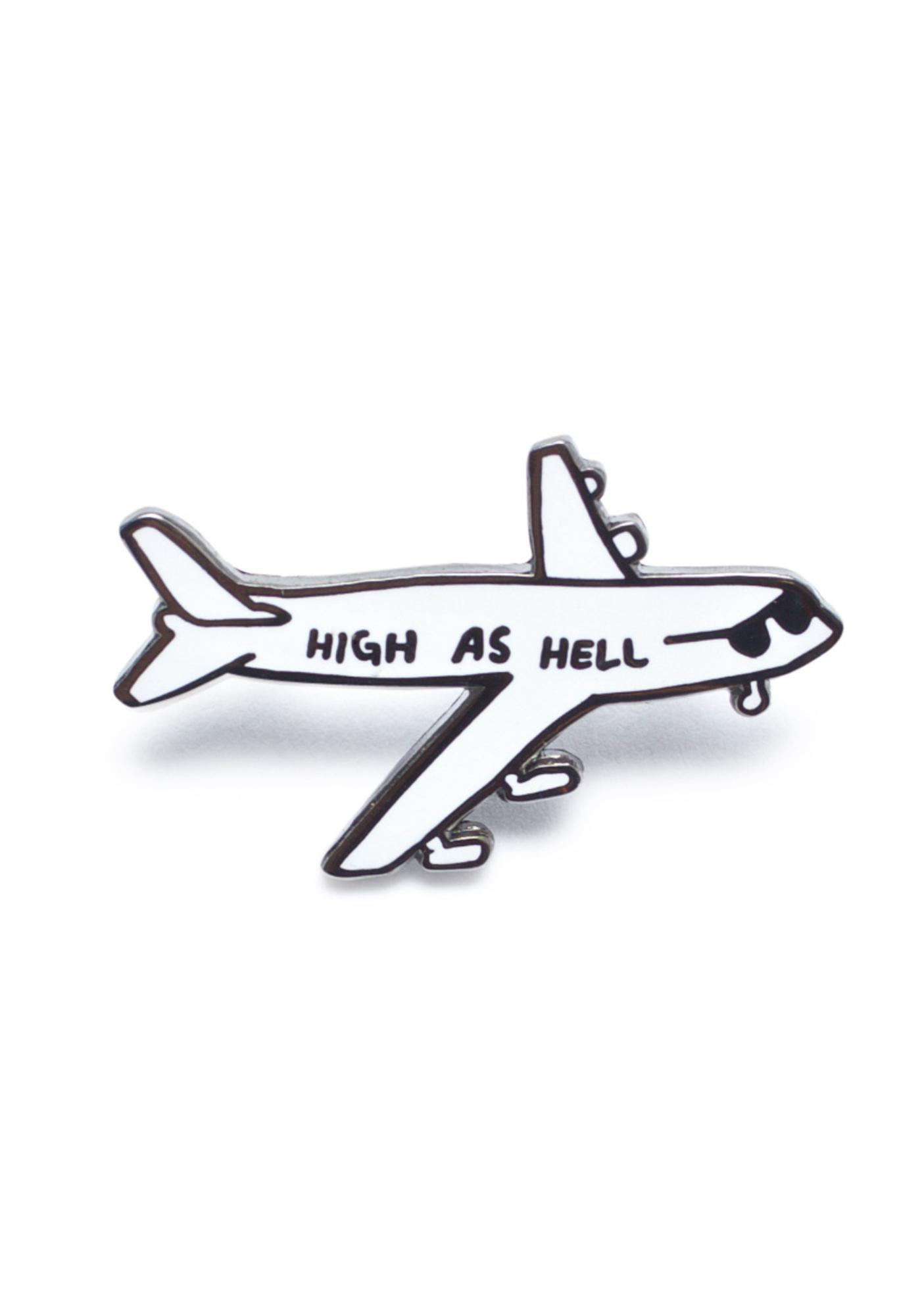 Valley Cruise Press Drunk 'N High Enamel Pin