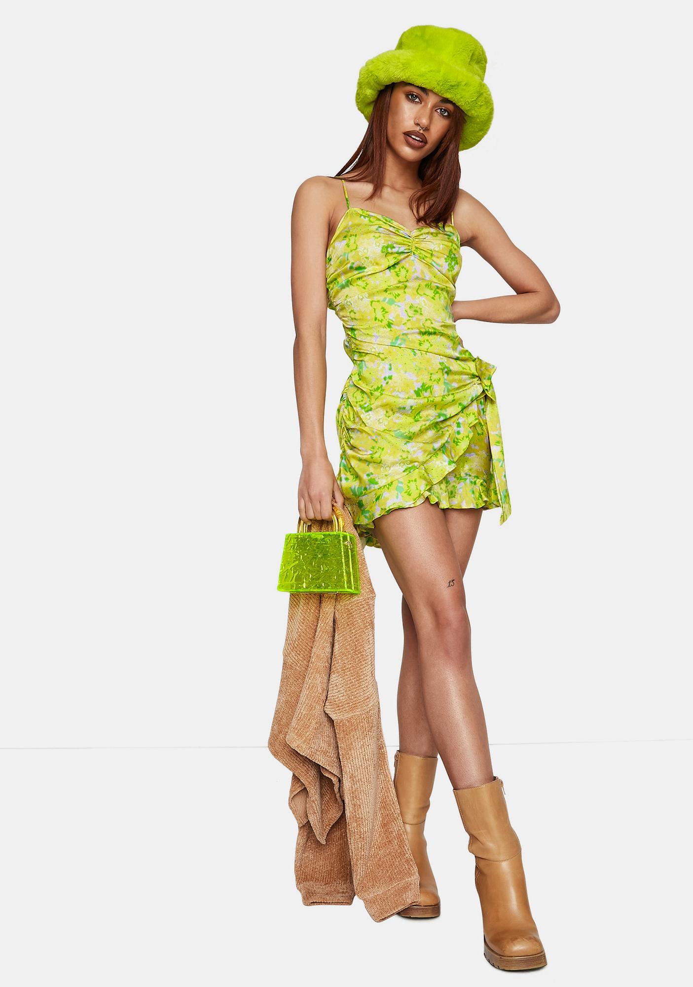 For Love & Lemons Dubois Floral Mini Dress