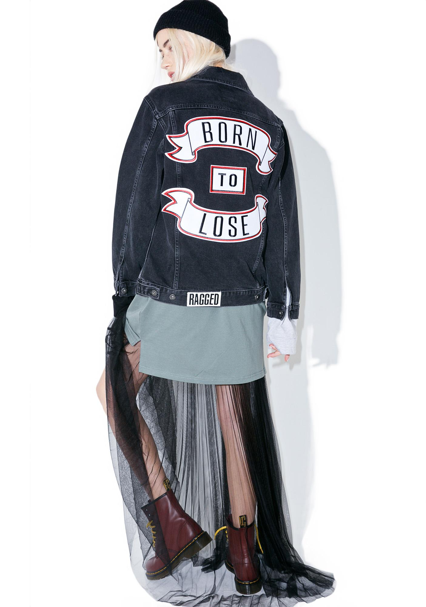 The Ragged Priest Sob Story Denim Jacket