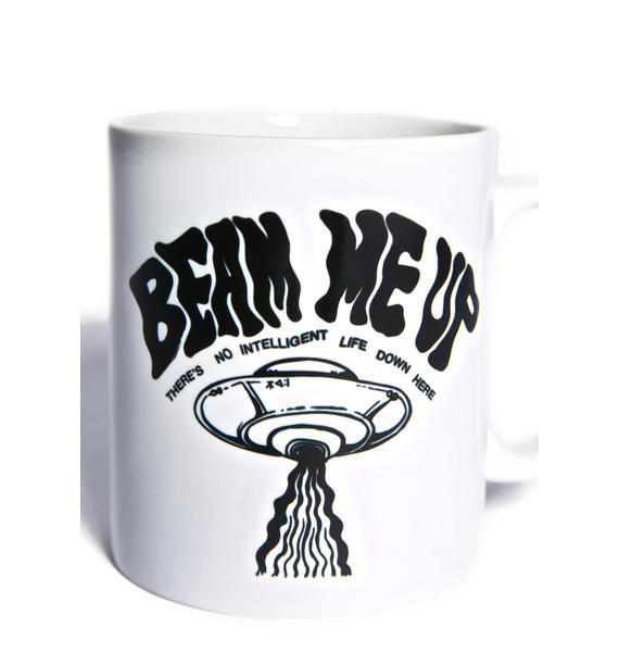 Disturbia Beam Me Up Mug