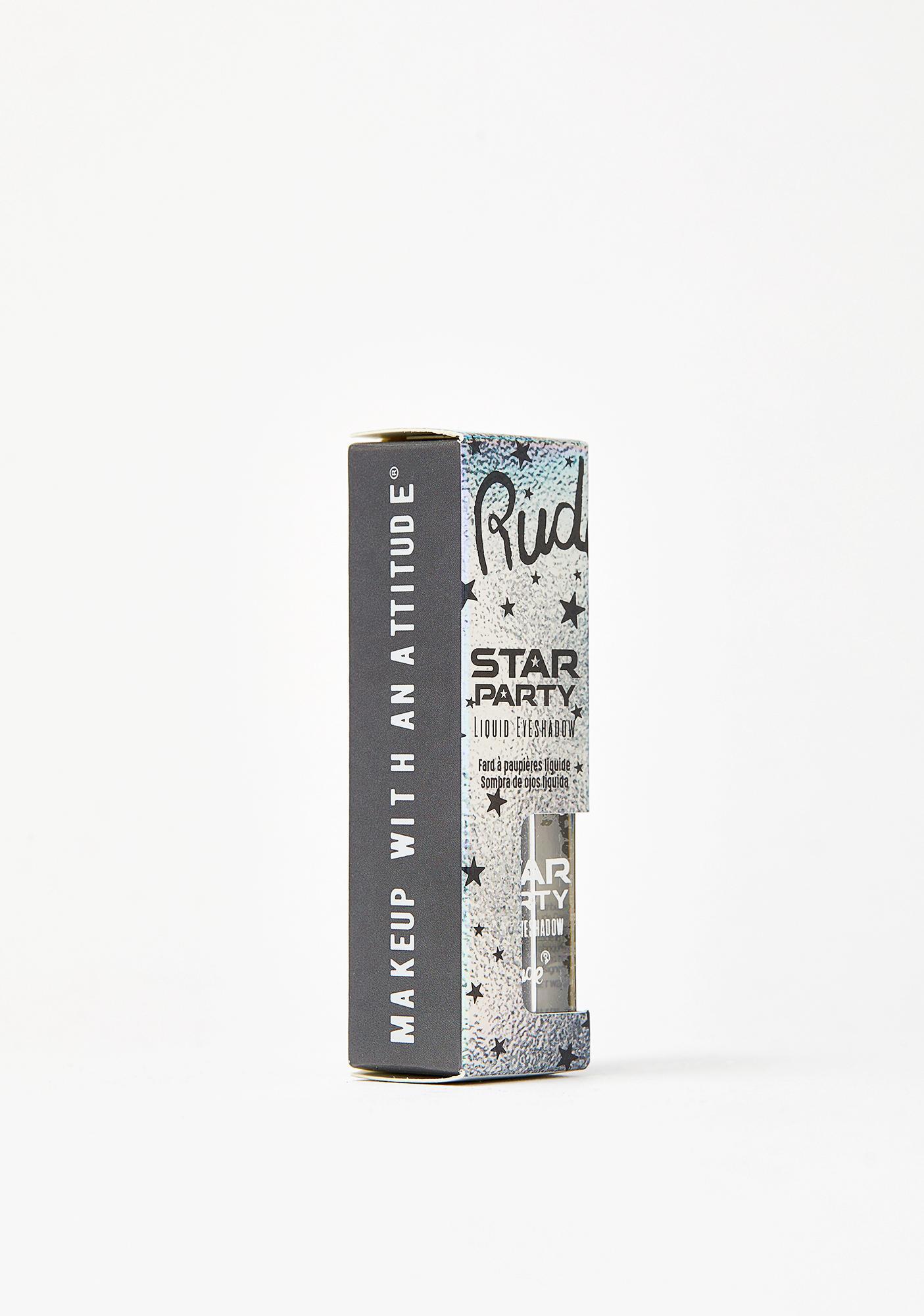 Rude Cosmetics Zodiac Dreams Star Party Liquid Glitter Eyeshadow