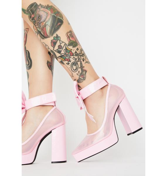 Sugar Thrillz Doll House Arrest Bow Heels