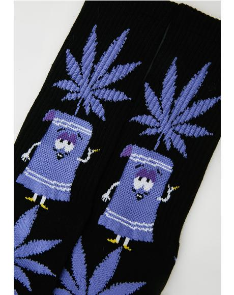 Towelie Plantlife Socks