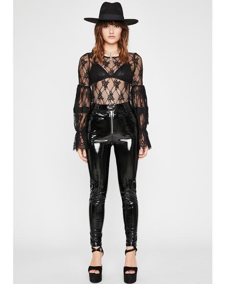 Tragic Forever N' Always Lace Bodysuit